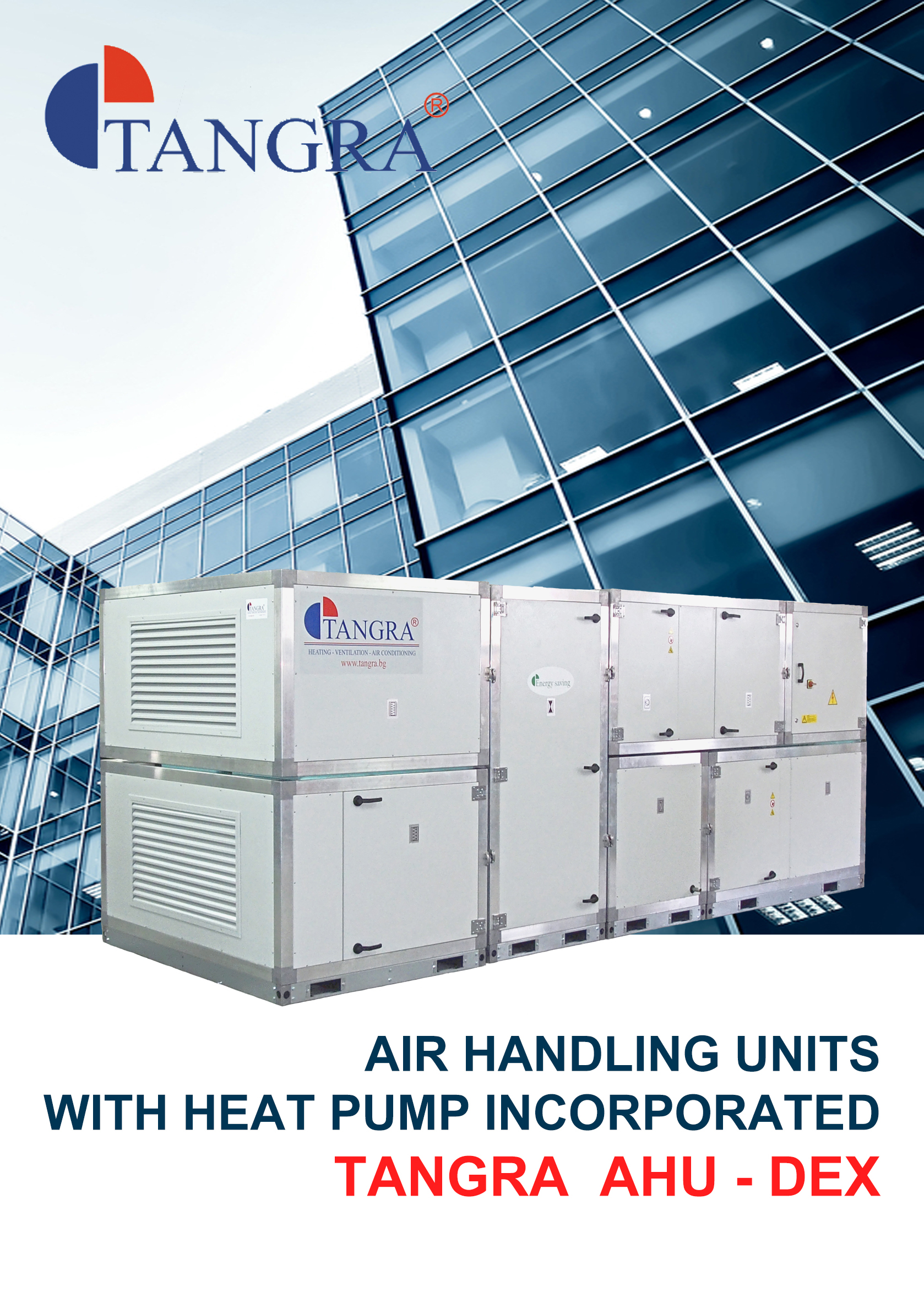 Tangra :: News AIR HANDLING UNITS WITH HEAT PUMP INCORPORATED  #C0120C